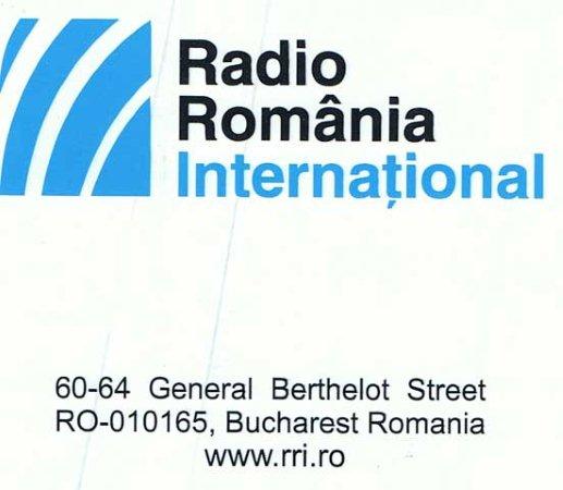 Adhesivo Radio Rumania Internacional