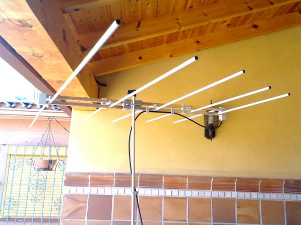 Antena RKB - FM 5 Elementos