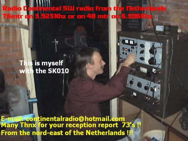 QSL Continental Radio