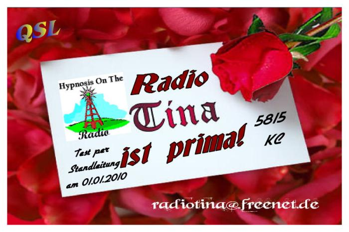 QSL Radio Tina Inter.