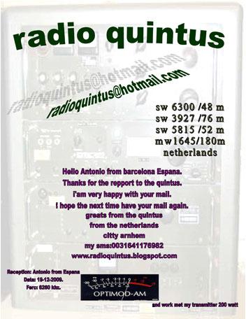 QSL Radio Quintus
