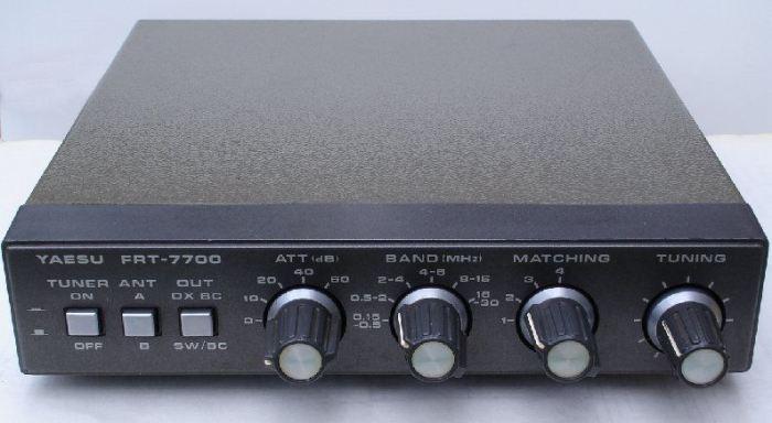 Acoplador de Antena Yaesu FRT-7700