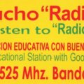Radio Verdad-Pegatina