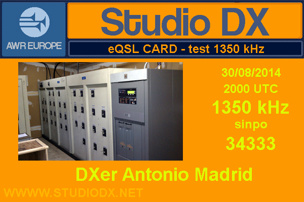 QSL STUDIO DX