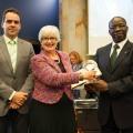ITU entrega Galardon al Consorcio DRM