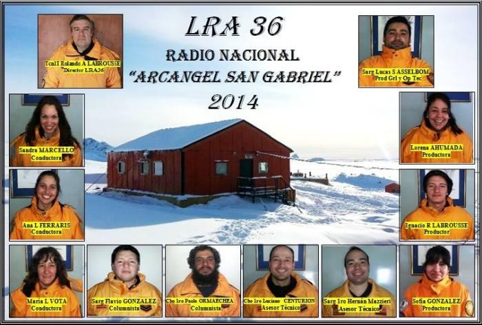 """Equipo de LRA 36 Radio Nacional """"Arcángel San Gabriel"""""""