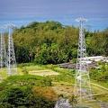 Antenas de la BBC en Seychelles