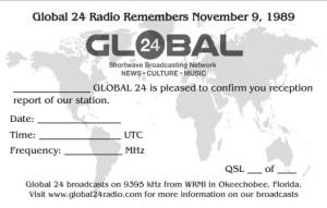QSL Especial Global 24