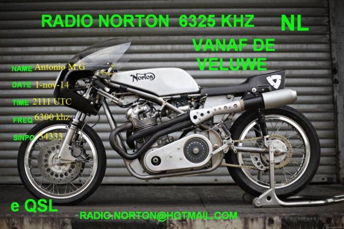 eQSL RADIO NORTON