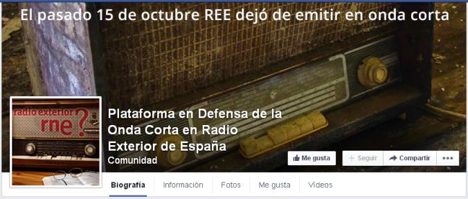 Plataforma en Defensa de la Onda Corta en Radio Exterior de España