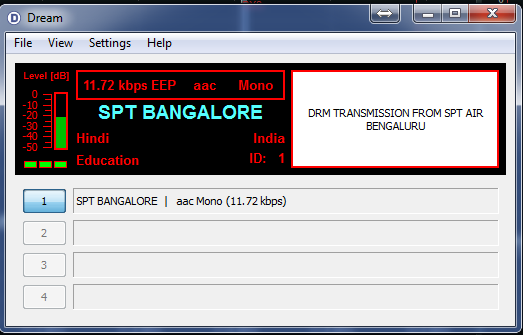 All India Radio -Bangalore-DRM -11620khz 2156 UTC