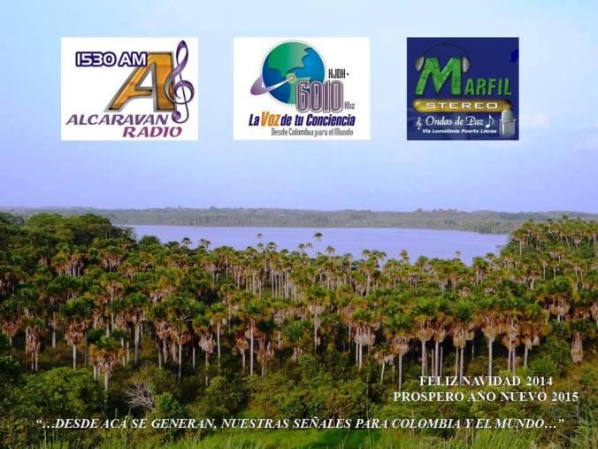 Christmas Radio Alcaravan y La Voz de tu coinciencia