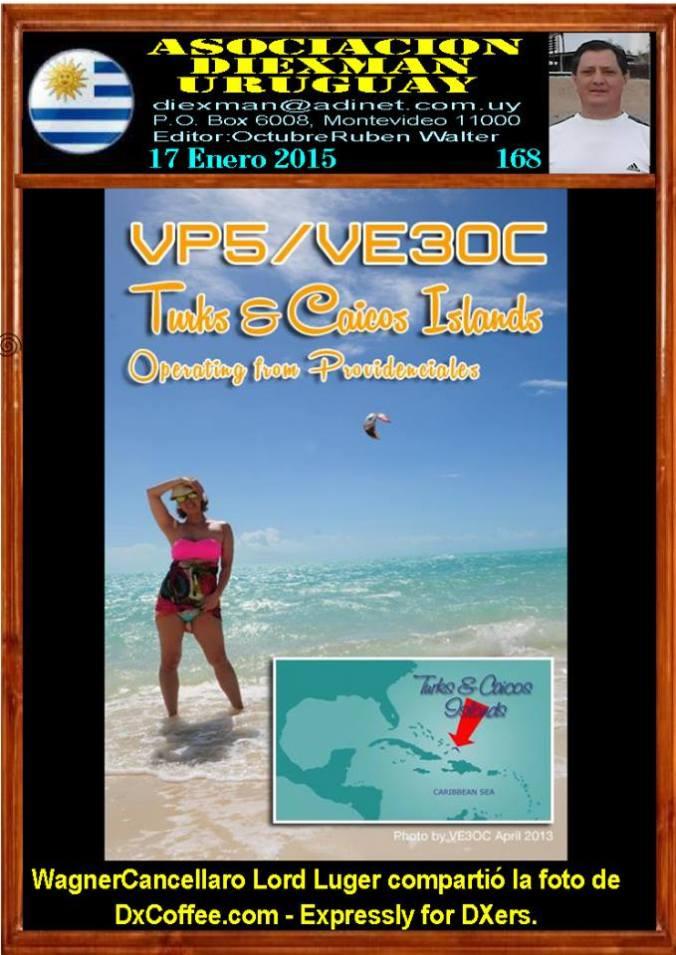 Disponible el boletin 168 de la Asociacion Diexman Uruguay
