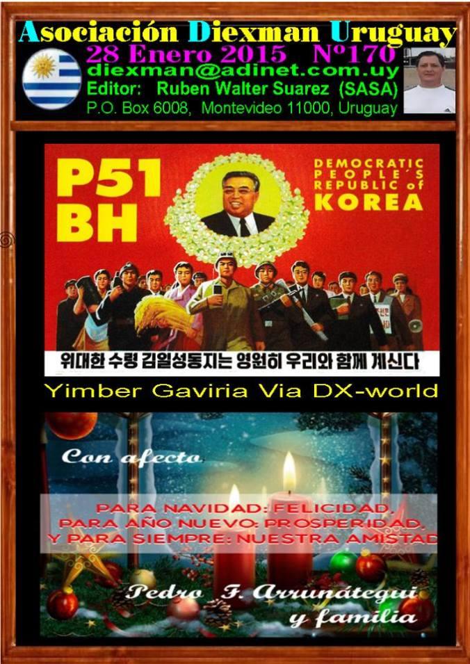 Disponible el boletin 170 de la Asociacion Diexman Uruguay