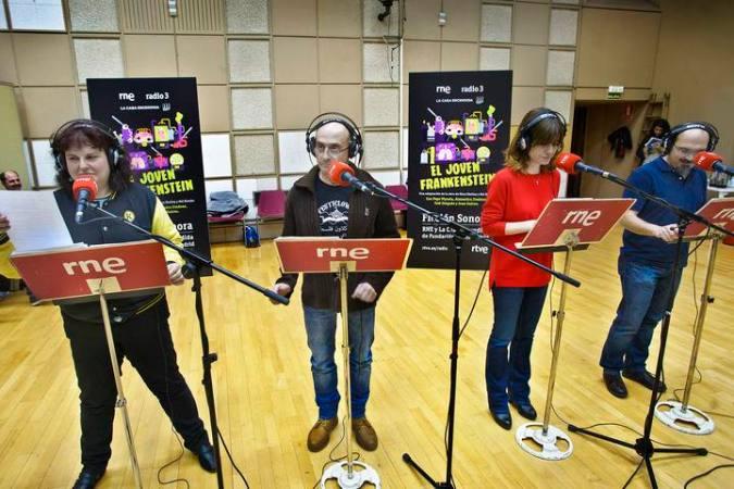 Radio Nacional estrena 'El joven Frankenstein', su nueva ficción sonora protagonizada por Pepe Viyuela - RTVE.es