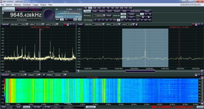 Radio Bandeirantes Brasil- 9645 Khz