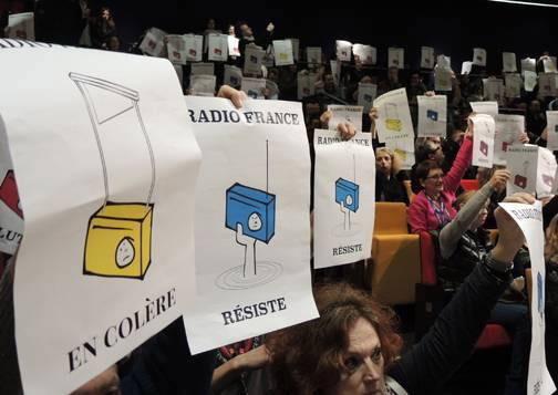 Huelga ilimitada en Radio France   Periodistas en Español