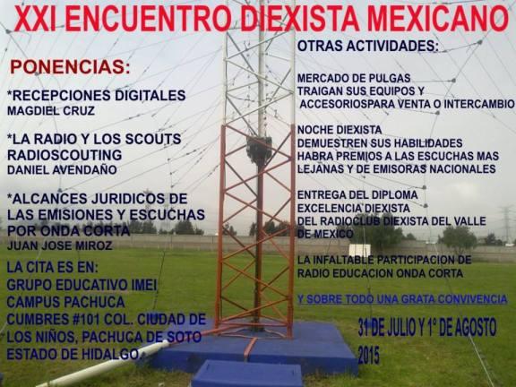 XXI Encuentro Diexista Mexicano