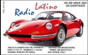 E-QSL de Radio Latino