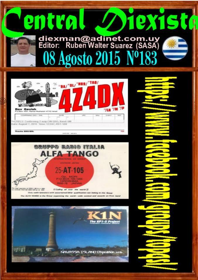 Disponible el boletin 183 de la Asociacion Diexman Uruguay