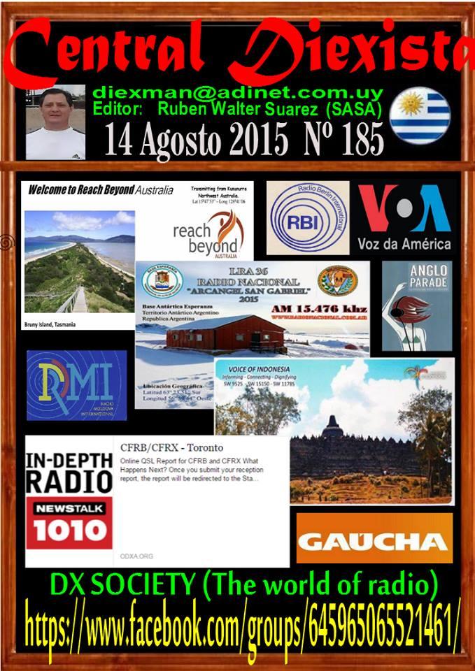 Disponible el boletin 185 de la Asociacion Diexman Uruguay
