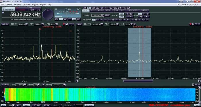 Radio Misionaria (Brasil) en 5940 khz
