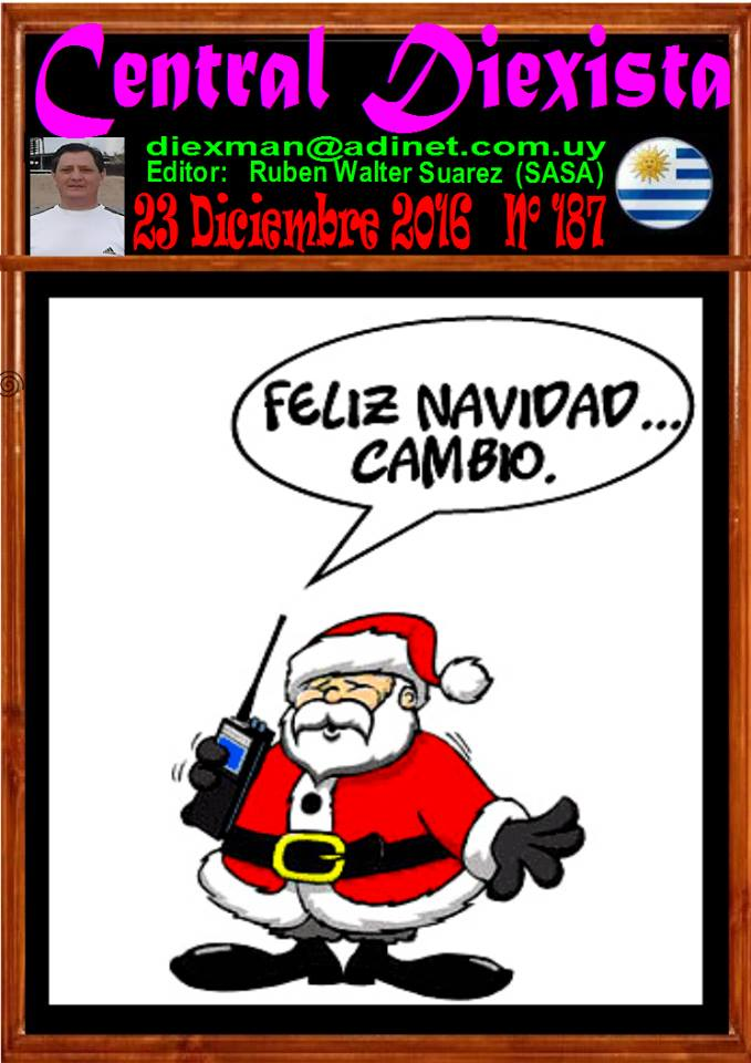 Disponible el boletin 187 de la Asociacion Diexman Uruguay