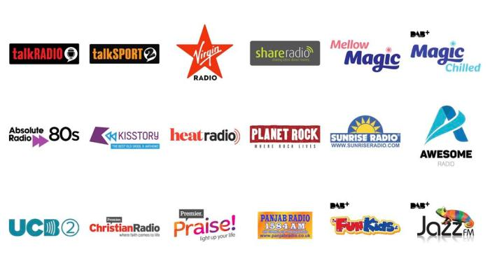 Emisoras del Reino Unido en DAB