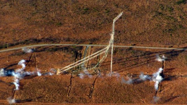 Antenas de VOA - Greenville