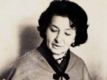 La locutora Katia Olevskaya