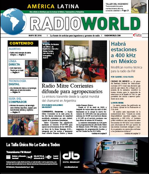 Radioworld Mayo 2016