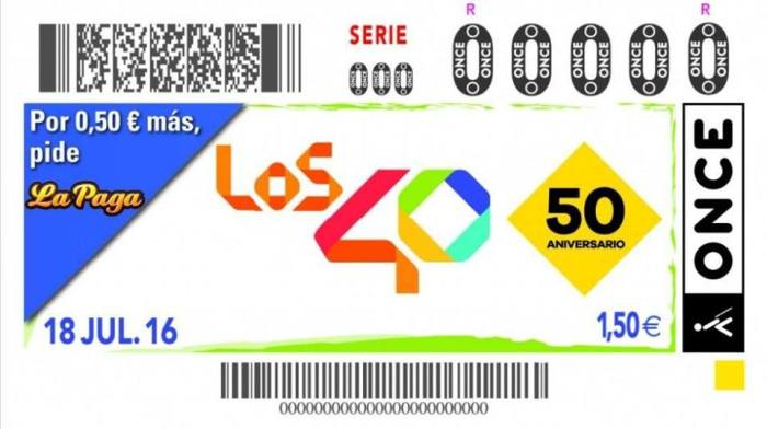 Cupon Once - 50 Aniversario Los 40
