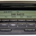 Receptor DAB para coche
