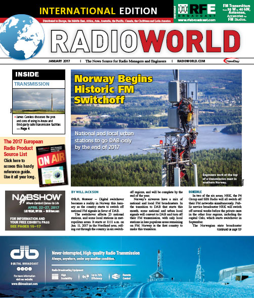 Radio World - Enero 2017