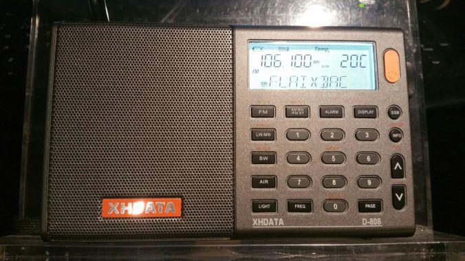 XHDATA D-808