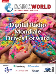 Digital Radio Mondiale Drives Forward