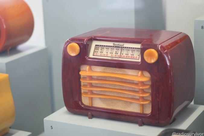 Radio Sentinel en la exhibición