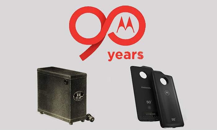 90 Aniversario de Motorola