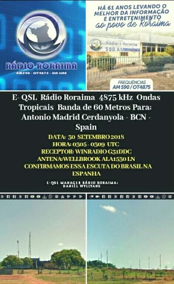EQSL-Radio Roraima