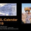 Calendario de tarjetas QSL de RMRC