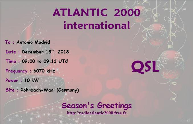 Radio Atlantic 2000
