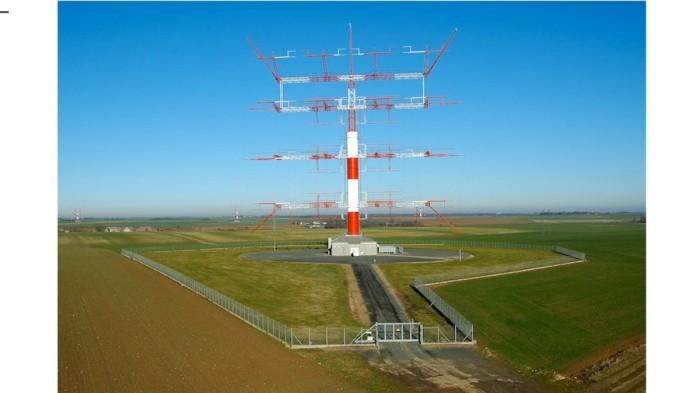 Antenas de Issoudun en Francia