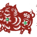 QSL RFA 2019 year of the pig