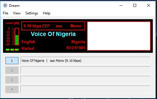 Voice of Nigeria - DRM