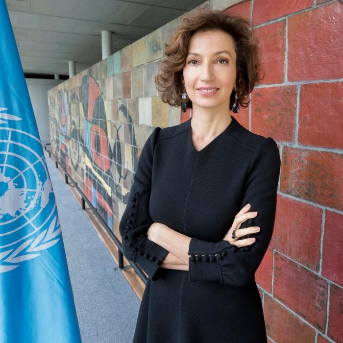 Directora General de la UNESCO, Audrey Azoulay