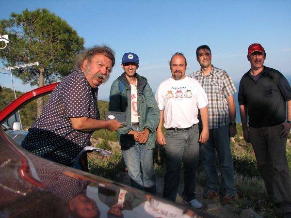 Foto de grupo en Garraf DX
