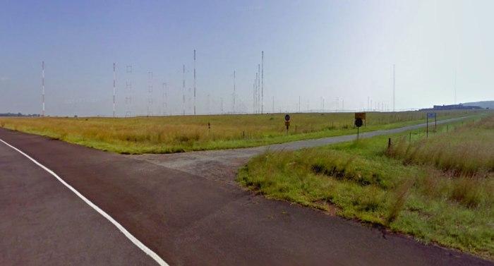 Antenas en Meyerton (Sudafrica)