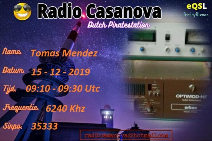 Tomas Mendez 19 April 2020