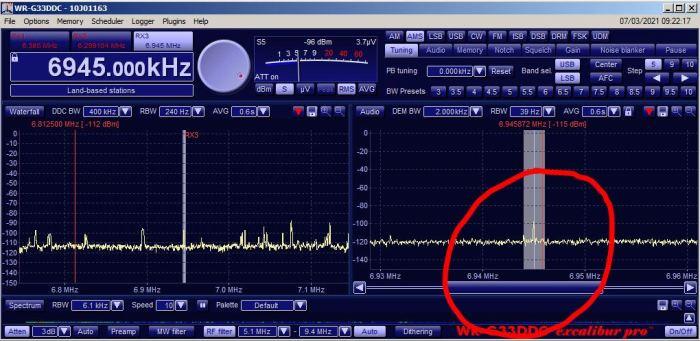 Radio Voyager 6945 Khz